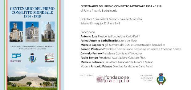 Presentazione Centenario Fondazione Perini. 13 maggio 2017 2