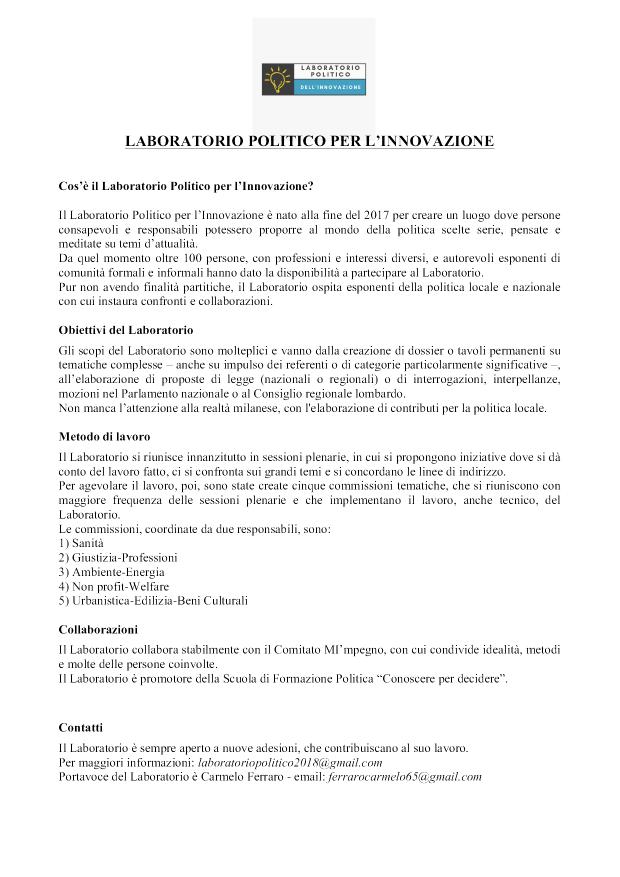 Manifesto Laboratorio