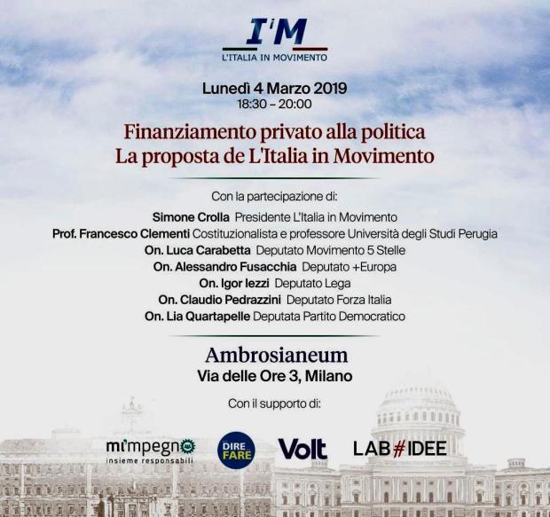 Locandina Italia in Movimento